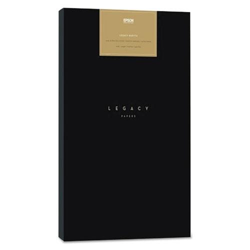 Legacy Fibre Professional Media Paper, 19 mil, 44 x 50 ft, Smooth Matte White