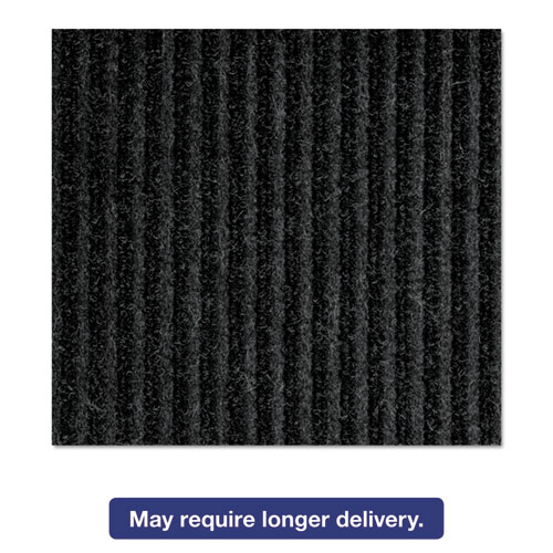 Crown NR0034CH Needle Rib Wiper Scraper Mat, 3 x 4-ft, 5/16-in Thick, Charcoal NR0034CH