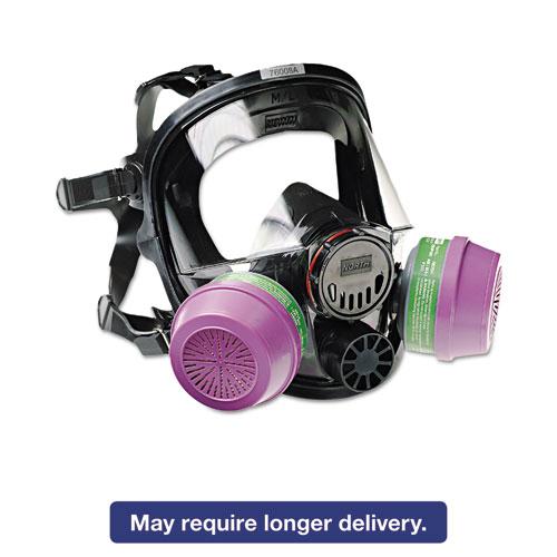 7600 Series Full-Facepiece Respirator Mask, Medium/Large 760008A