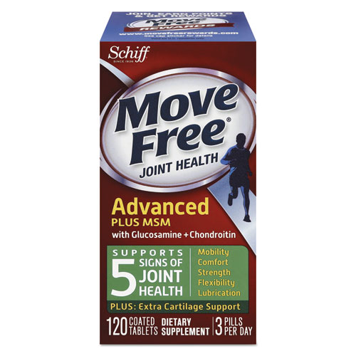 Move Free® Move Free Advanced Plus MSM Joint Health Tablet, 120 Count