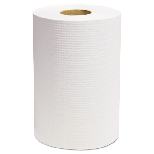 Select Roll Paper Towels, White, 7 7/8 x 350 ft, 12/Carton