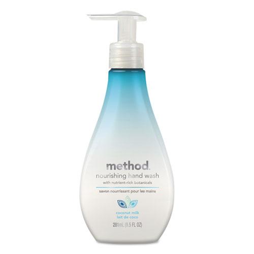 Method® Nourishing Hand Wash, Coconut Milk, 9 1/2 oz Bottle, 6/Carton
