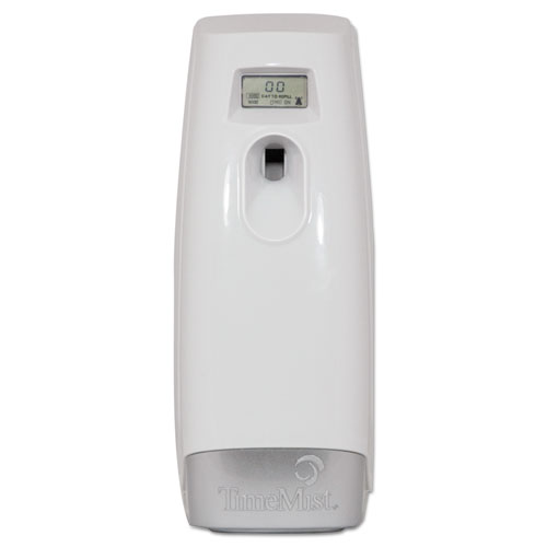Plus Metered Aerosol Fragrance Dispenser, 3.4 x 3.4 x 8 1/4, White 1048502EA