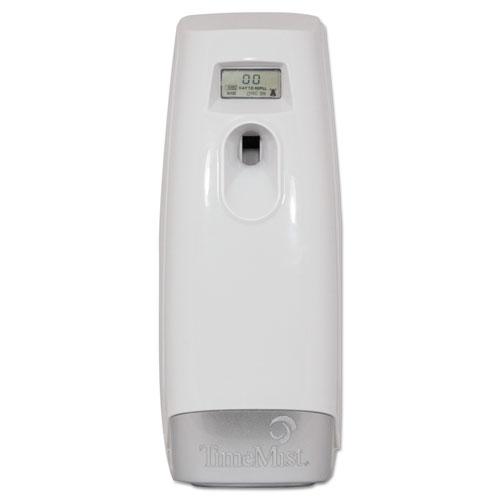 TimeMist® Plus Metered Aerosol Fragrance Dispenser, 3.4 x 3.4 x 8 1/4, White