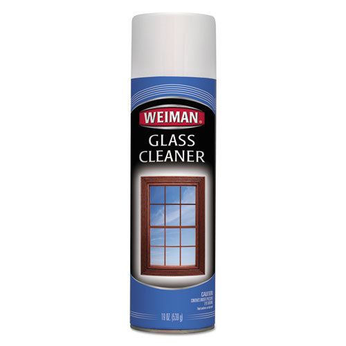 Foaming Glass Cleaner, 19 oz Aerosol Can, 6/Carton