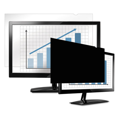 "PrivaScreen Blackout Privacy Filter for 20.1"" Widescreen LCD, 16:10 Aspect Ratio 