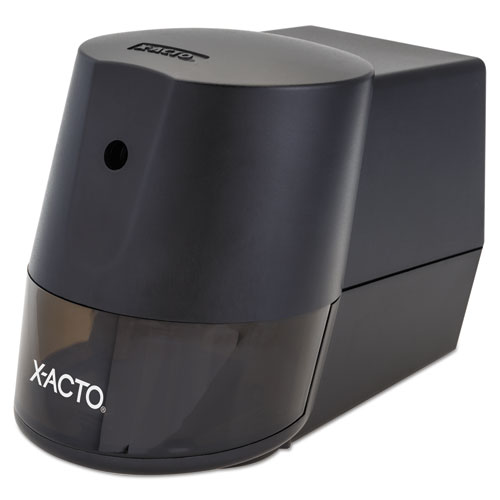 Model 2000 Home Office Electric Pencil Sharpener, AC-Powered, 7.75 x 3.5 x 4.5, Black