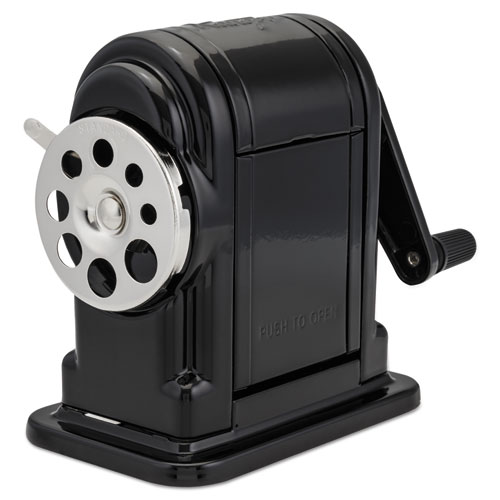 Ranger 55 Classroom Manual Pencil Sharpener, Manual, 3.25 x 6 x 5.5, Black