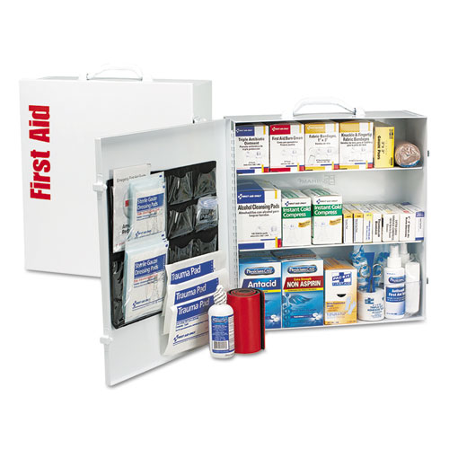 ANSI 2015 Class A+ Type Iⅈ Industrial First Aid Kit 100 People, 676 Pieces
