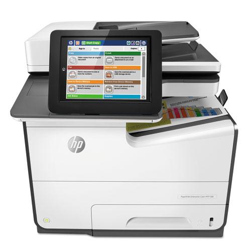 PageWide Enterprise Color MFP 586f, Copy/Fax/Print/Scan