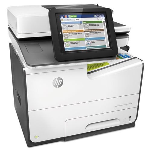 PageWide Enterprise Color MFP 586dn, Copy/Print/Scan