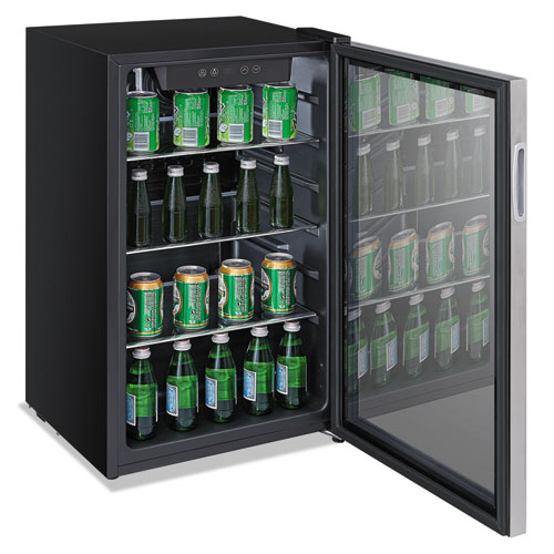 Alerfbc34 Alera 174 3 4 Cu Ft Beverage Cooler Zuma