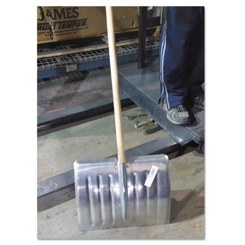 Arctic Blast 18in Aluminum Snow Shovel, 51in Long