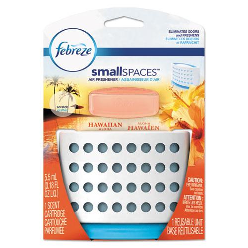 Febreze® smallSPACES, Hawaiian Aloha, 5.5 mL Kit, 8/Carton