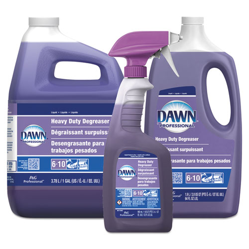 Dawn® Professional Heavy Duty Degreaser, 1 Gallon, 3 Bottles/Carton