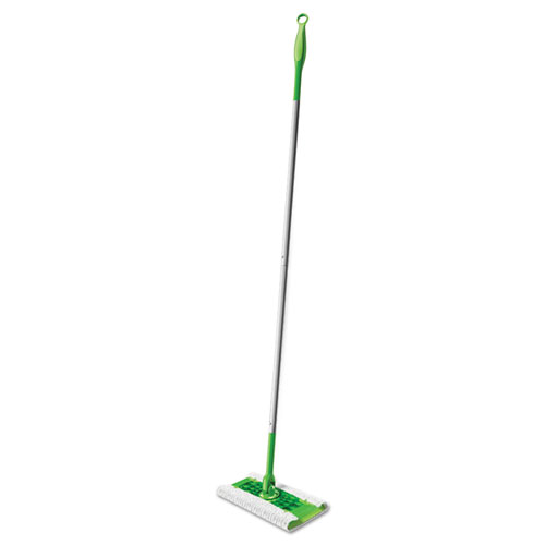 Sweeper Mop, 10 Wide Mop, Green, 3/Carton