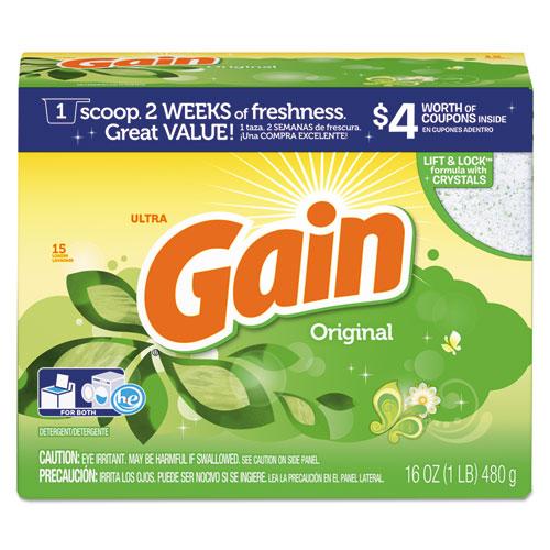 Original Scent Powder Laundry Detergent, 16 oz/Box, 15/Carton