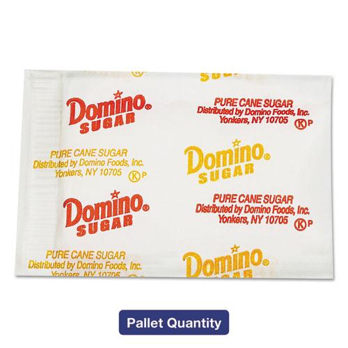 Sugar Portion Packets, 0.01 oz Packets, 2000/Carton, 72 Carton/Pallet