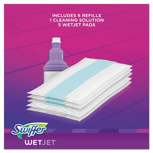Wetjet Mop Starter Kit 46 Quot Handle Silver Purple