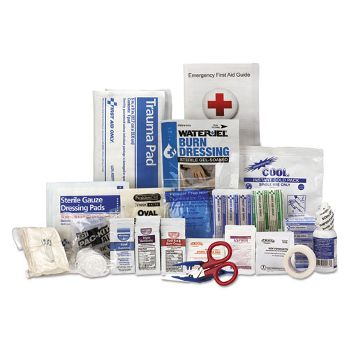 25 Person ANSI A First Aid Kit Refill, 141 Pieces