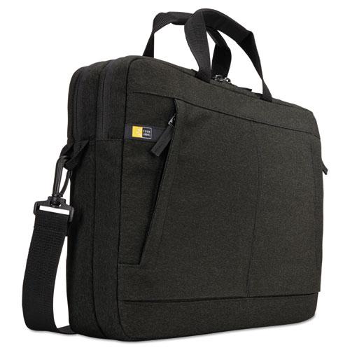 "Huxton 15.6"" Laptop Bag, 2 7/8 x 16 x 11 7/8, Black HUXB115BLACK"