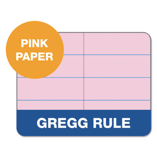 Prism Steno Books Gregg 6 X 9 Pink 80 Sheets 4 Pads