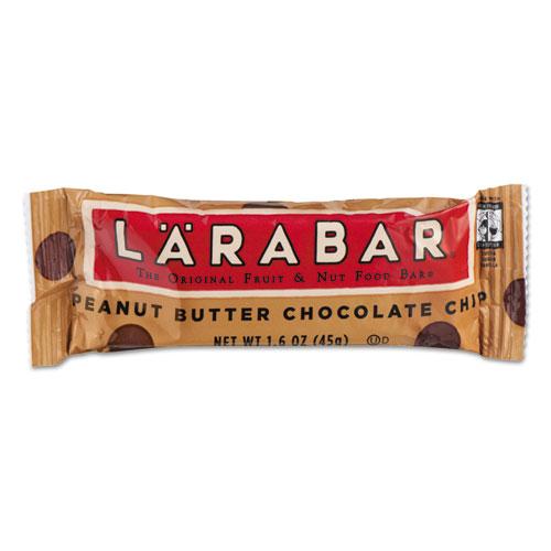 Larabar™ The Original Fruit and Nut Food Bar, Peanut Butter Chocolate Chip, 1.6 oz, 16/Box