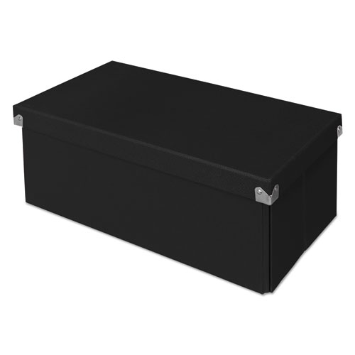 Samsill® Pop n' Store Decorative Box, 8.25 x 15.5 x 5.93, Black