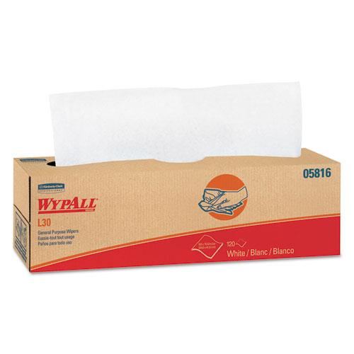 L30 Towels, POP-UP Box, 9 4/5 x 16 2/5, 120/Box, 6 Boxes/Carton