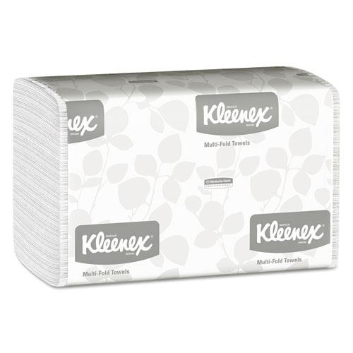 Multi-Fold Paper Towels, 9 1/5 x 9 2/5, White, 150/Pack, 16 Packs/Carton
