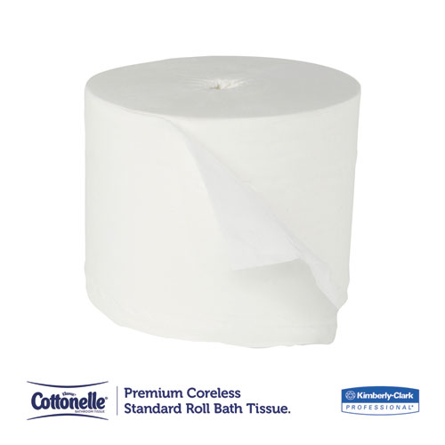 Cottonelle Kcc 07001 Two Ply Coreless Bathroom Tissue 36