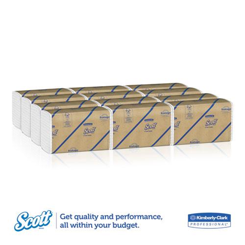 Kleenex C-Fold Paper Towels 150//pack, 16 packs//carton White 10 1//8 x 13 3//20