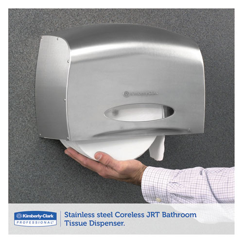 Coreless Jrt Jr Bath Tissue Dispenser Ez Load 6x9 8x14