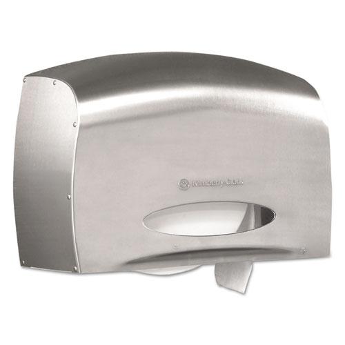 Coreless JRT Jr. Bath Tissue Dispenser, EZ Load, 6x9.8x14.3, Stainless Steel