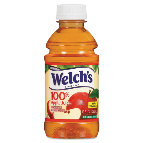 100 Apple Juice, 10 oz., 24/Carton