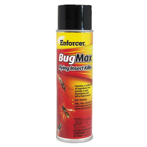 Enforcer® BugMax Flying Insect Killer, 16 oz Aerosol Can, 12/Carton