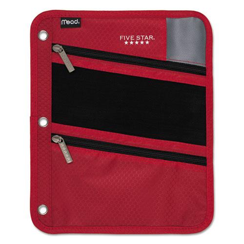 Zipper Pouch, 8 3/4 x 11, Red
