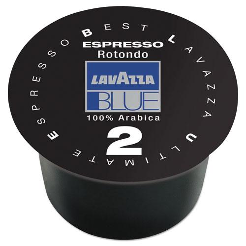 Lavazza BLUE Double Espresso Capsules, Rotondo Dark Roast, 11.5g, 100/Box