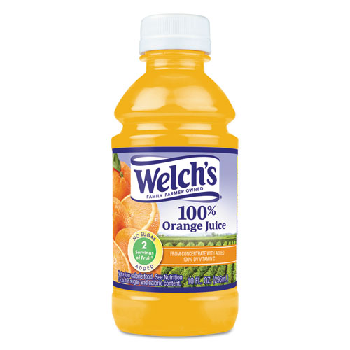 100 Orange Juice, 10 oz., 24/Carton