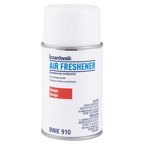 Metered Air Freshener Refill, Mango, 5.3 oz Aerosol, 12/Carton