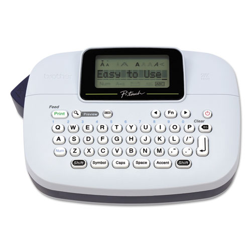PT-M95 Handy Label Maker, 2 Lines, 4.5 x 6.13 x 2.5
