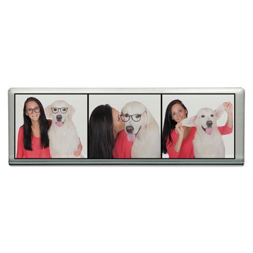 Acrylic Photo Frames, Clear, 2 x 6 1/4
