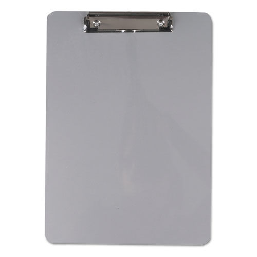Aluminum Clipboard with Low Profile Clip, 1/2 Capacity, 8 x 11 1/2 Sheets