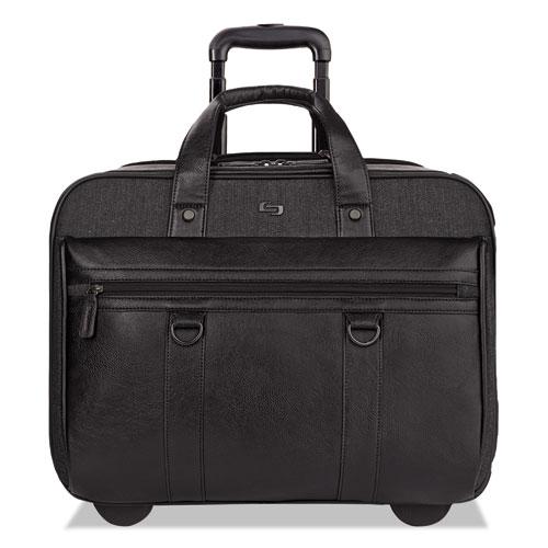"Bradford Rolling Case, 17.3"", 17 3/4 x 6 1/4 x 14, Black EXE9354"