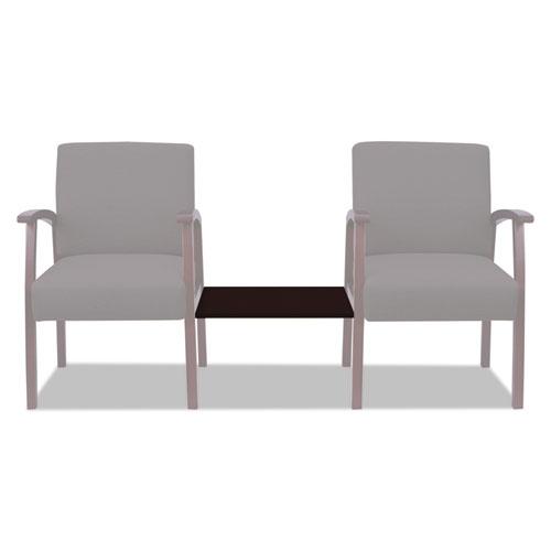 Alera Reception Lounge 700 Series Ganging Table, 18 7/8 x 21 5/8, Mahogany