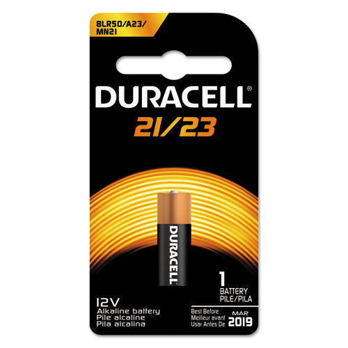 Duracell® CopperTop Alkaline Batteries, 12V, 1/EA