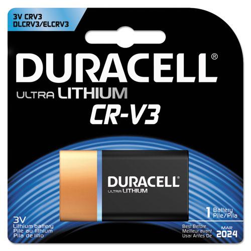 Duracell® Ultra High Power Lithium Battery, CRV3, 3V, 1/EA