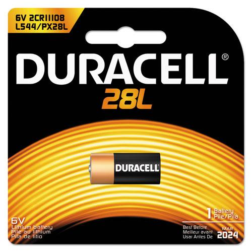 Duracell® Lithium Battery, 6V, 1/EA