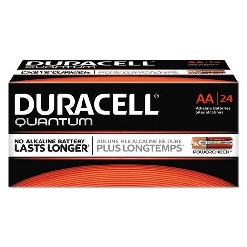 Duracell® Quantum Alkaline Batteries, D, 72/CT