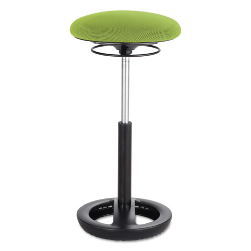 """Safco® Twixt Extended-Height Ergonomic Chair, 32"""" High, Green Fabric"""